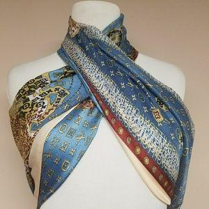 New large silk Louis Vuitton scarf/wrap.